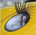 Personalizado adesivo cola com um olho mágico no som do carro cílios cílios carro decoração do carro