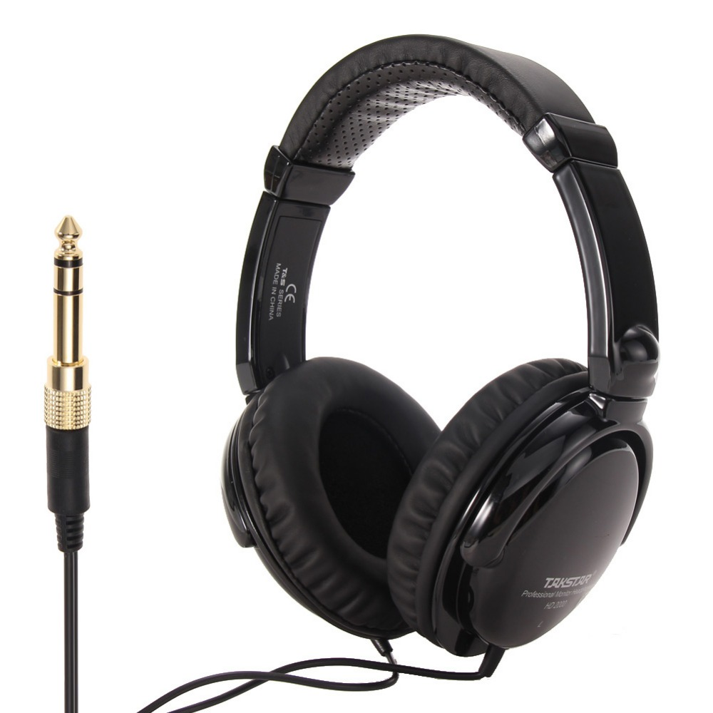 TAKSTAR HD2000 headset music monitor's dj earphones Free Shipping Audio Mixing Recording Professional Monitor Headphones for PC