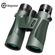 цены LEAYSOO 8x42 10X42 Professional Low Light level Night Vision Waterproof Binocular Camping Hunting Telescope Prism Binocular