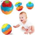 Xfc chocalhos de brinquedo da criança do bebê crianças colorido agarrar bola de fitness diy puzzle brinquedo educacional magia brinquedo artesanal presente