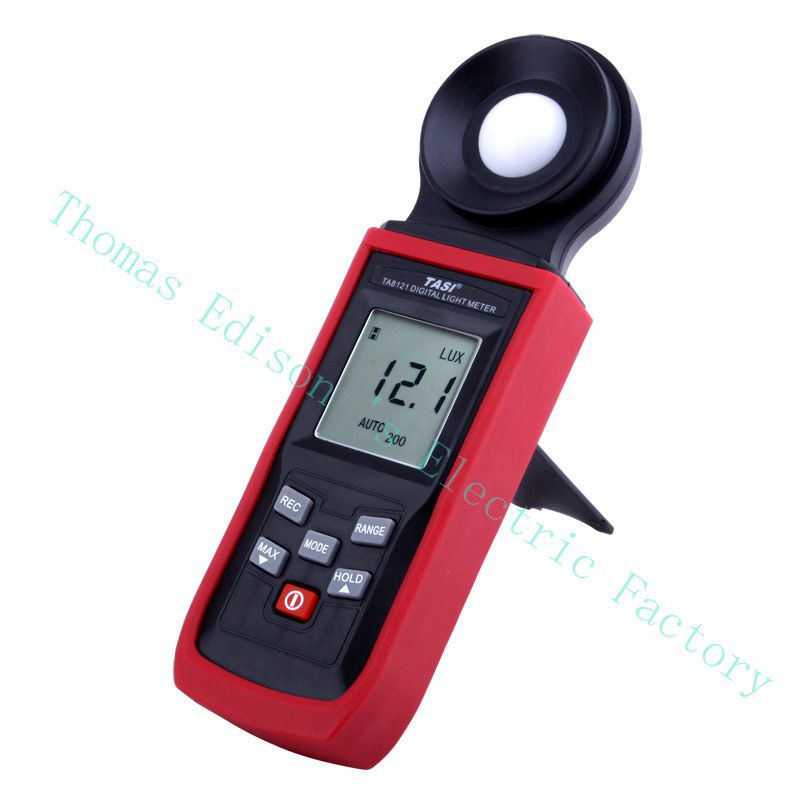 High quality TASI TA8123 200,000Lux Digital LCD backlight Pocket Light Meter Lux/FC Measure Tester tachometer luxmeter