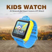 "720 P Cámara GPS/LBS/WIFI Ubicación 1.54 ""Pantalla Táctil Niño Niño 3G Android 4.0 Inteligente reloj Monitor SOS Perseguidor de Alarma Del Reloj"