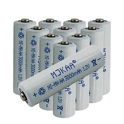 Cncool 10 pcs 1.2 V 3000 mAh Ni-MH Baterias Recarregáveis AA 2A Neutral Bateria Pilhas AA Bateria Recarregável