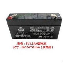 6V 1.3AH свинцово-кислотная аккумуляторная Батарея vrla батареи