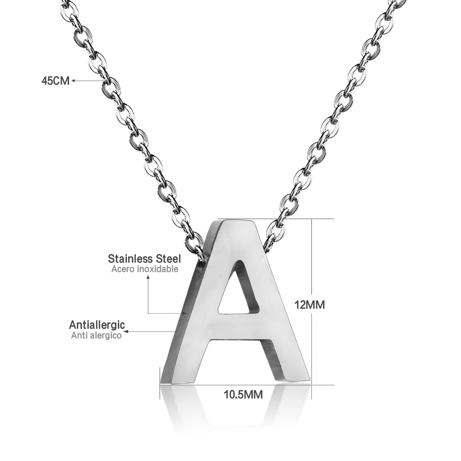 pendant custom necklace products letter letters bubble medium gemstonegod