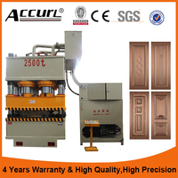 Automatic Double Action Eight Column Hydraulic Press Machine For Door Embossing