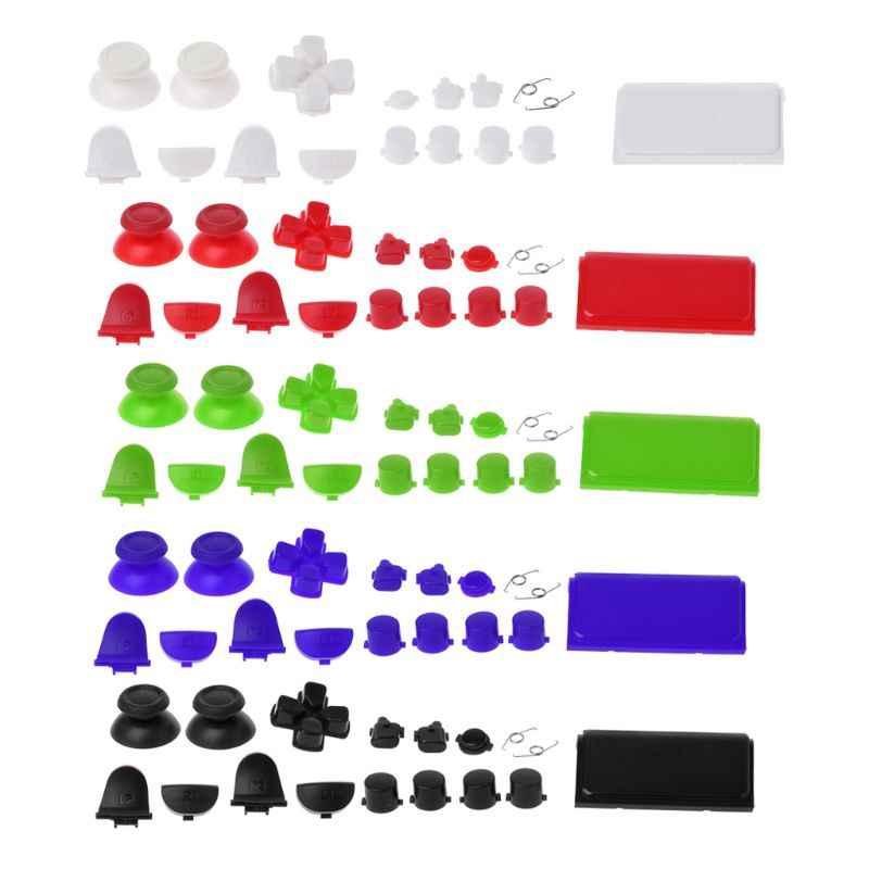 Полные наборы Запчасти для авто кнопки для Игровые приставки 4 Dualshock 4 PS4 PRO контроллер JDM JDS 040 R2 L2 R1 L1