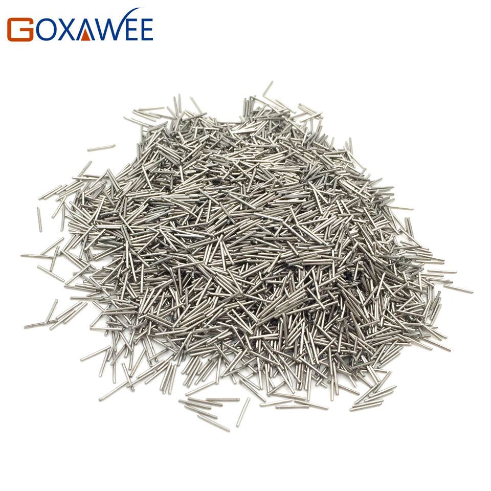 купить Mini Pins Magnetic Rotary Tumbler Accessories 500g Dia 0.2-0.6mm Jewelry Polishing Needles Media Stainless Steel Magnetic Pins недорого