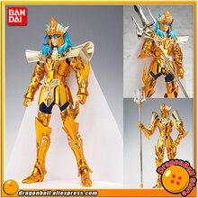 """Japonya Anime """"aziz Seiya"""" orijinal BANDAI Tamashii milletler Saint bez efsane aksiyon figürü deniz İmparator Poseidon"""