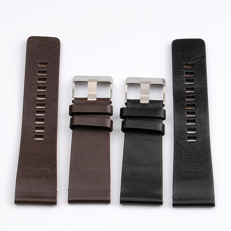 High Quality Genuine Calf Hide Leather Watchbands For Diesel Watch Strap Mens Wrist Watch Bands 26MM 27MM 28MM 30MM 32MM 34MMHigh Quality Genuine Calf Hide Leather Watchbands For Diesel Watch Strap Mens Wrist Watch Bands 26MM 27MM 28MM 30MM 32MM 34MM