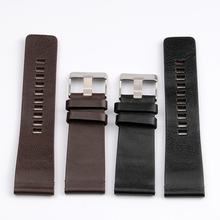 3a3cc62e3a8 High Quality Genuine Calf Hide Leather Watchbands For Diesel Watch Strap  Men s Wrist Watch Bands 26MM