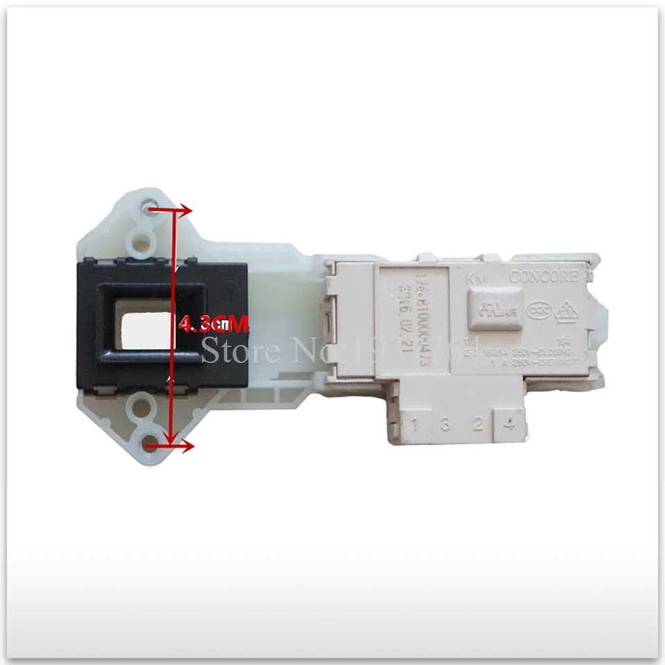 1pcs New For LG Washing Machine Parts Time Delay Switch Door 6601EN1003B WD-N80105 T10175 3 Plug Door Lock