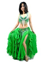 11Colors Bellydance 2015 New Belly Dance Costume Set 3 Pcs (bra+skirt+belt) Belly Dancing Clothes Professional Free Shipping