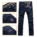 """TACE & SHARK жан мужчины """"s 2016 запуск осенью и зимой случайные удобные embroideryed красивый узор брюк бесплатная доставка"""