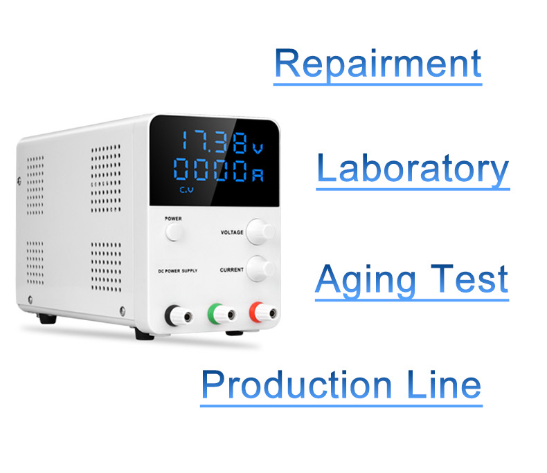 HOT Wanptek adjustable dc power supply GPS3010D Variable 30V 10A Regulated the power modul switching laboratory