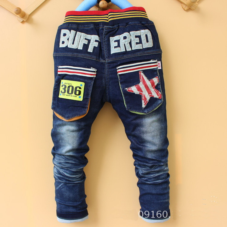 a4d7cadb0 2016 new arrival kid star jeans pant boy cool denim embroidery pant 3-7  years many designs