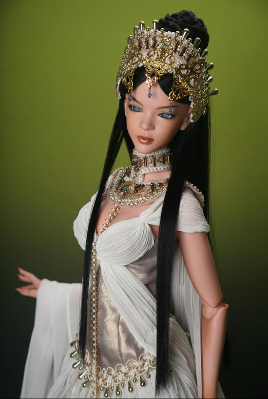 1/3th scale 65cm BJD nude doll DIY Make up,Dress up.SD doll girl Epidia Queen of waterfalls .not included Apparel and wig 1 4 scale 43cm bjd nude doll diy make up dress up sd doll girl elena not included apparel and wig