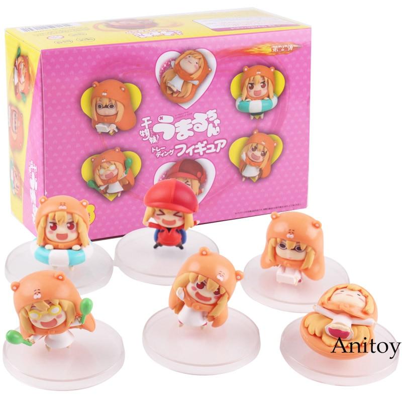 Image 3 - Himouto Umaru chan himouto umaru chan figure doma umaru doll PVC Action Figure Set Collectible Modle ToysAction & Toy Figures   -