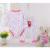 4 Pçs/lote Roupa Do Bebê Meninos Meninas Pijamas de Algodão Conjuntos Calças Calças + de Manga Comprida Bodysuits 3 ~ 24 Meses Cueca outono V30