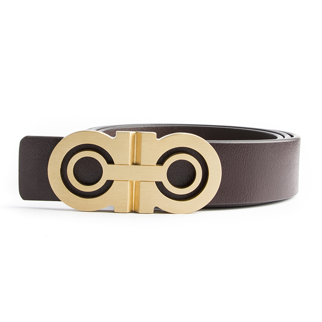 19c08c90376 ... Luxury Solid Brass Designer H Belts Men High Quality Male Women Genuine  Real Leather GG Double