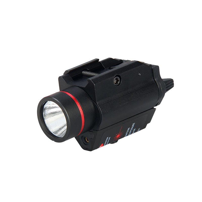 TRIJICON New Arrival Hunting Light 3W-H2 Aluminum M6GR Flashlight With Red Laser PP15-0096