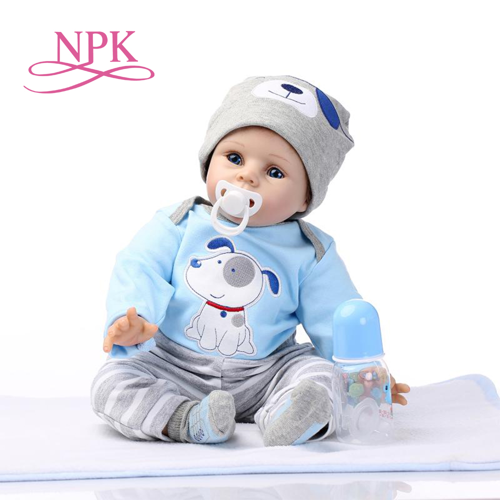 NPK free shipping hot sale lifelike reborn baby doll wholesale newborn baby fashion doll Christamas Gift newborn baby doll
