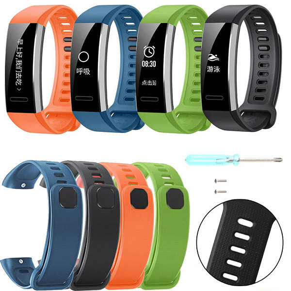 16MM Silicone Replacement Band Wrist Strap For Huawei Band 2/Band 2 pro Smart Wa