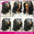 7A Glueless Wigs 150% Density Full Lace Human Hair Wigs Peruvian Virgin Human Hair Body Wave Lace Front Human Hair Wigs