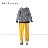 brand phoebee 3 8 years boy winter knitted suit include sweaters and pant winter sweater suit knit coat kids christmas clothing