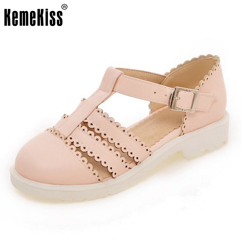 Femmes Appartements Sandales Marque Sexy De Mode Gladiateur Dames Boucle Étudiant Vintage Sandale Chaussures Loisirs Chaussures Taille 34-43 PA00722
