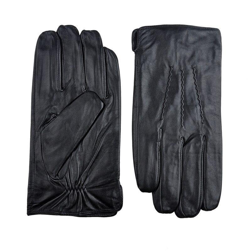 Sherlock Holmes Gloves handmade sewing sheepskin genuine leather gloves roll