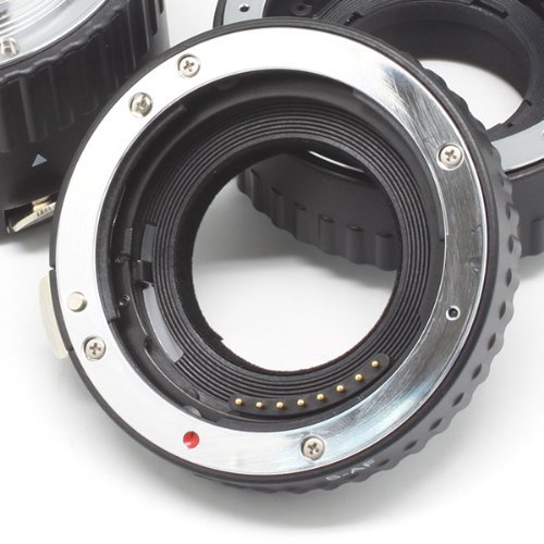 Meike S-AF-A Juego de anillos de tubo de extensión macro de enfoque - Cámara y foto - foto 5