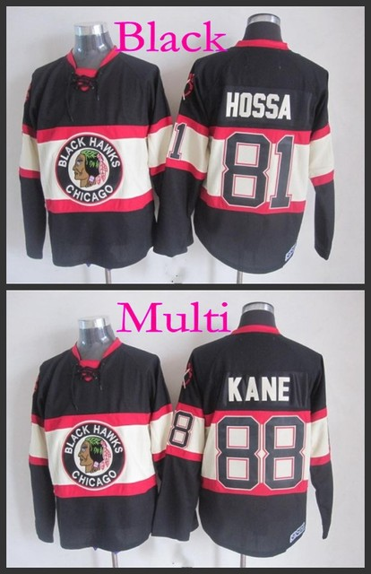 365b5d94c24 Cheap Authentic Chicago Blackhawks Winter Classic CCM throwback 88 Patrick  Kane 81 Marian Hossa vintage blackhawks jersey/shirt