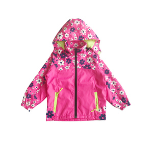 Image 4 - Spring Casual Windproof Breathable Print Girls Jackets Child Coat Sporty Children Outerwear For 3 14 Years Old