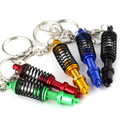 Hot New Coilover Keychain Creative Model Automotive Accessories Shock Absorber Keychain Keyring Key Chain Ring  Keyfob