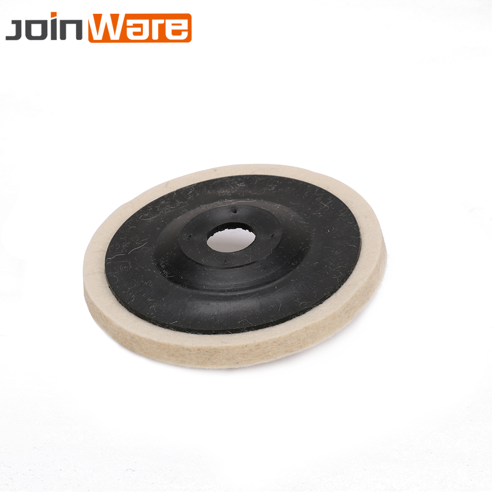 3//10PCS 100mm 4Inch Wool Buffing Angle Grinder Wheel Felt Polishing Disc Pad Kit