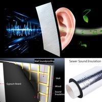 236 Mil 15 Sqft Sound Deadening Insulation Mat Automotive Deadener Wall Soundproofing Foam Panels 55 X