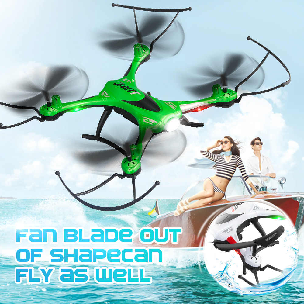 JJRC Waterproof RC Drone Anti-crash Headless Mode LED Helicopter 6-axis Gyro Ultra-light Quadcopter Outdoor Toy For Kid Gift H31