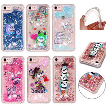 Cute Frog Dolphin Deer Pandas Phone Case For iPhone X 8 7 6S 6 Plus 5 5S SE Soft Back Cover ipod Shining Cases Capa P03G