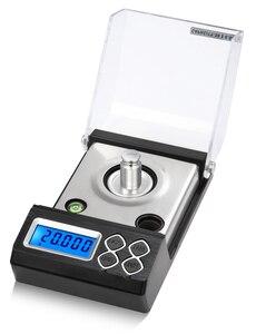 Image 5 - Balanza De Joyería Digital de alta precisión, 0.001g, LCD, miligramo, para contar diamantes, Gema de laboratorio
