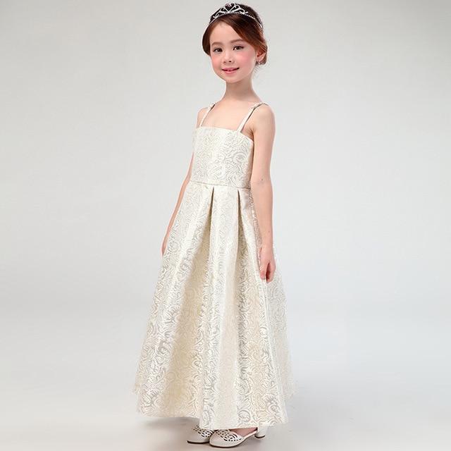 adc7c9d87555b Princesse filles robe robe maxi long adolescente petite fille robe de soirée  robes de soirée fille