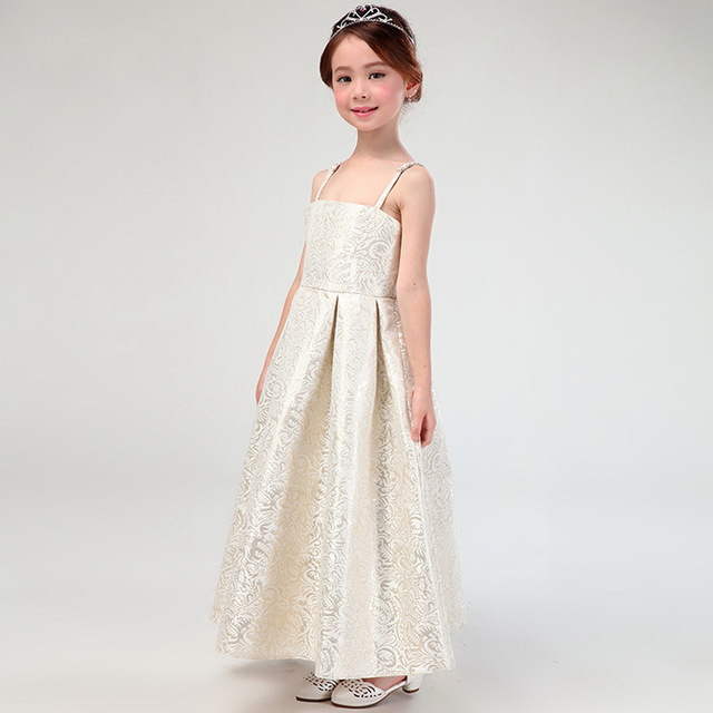 7328c1483174 princess girls gown dress maxi long teenage little girl evening dress girl  party dresses kids clothes girls summer 2018 new