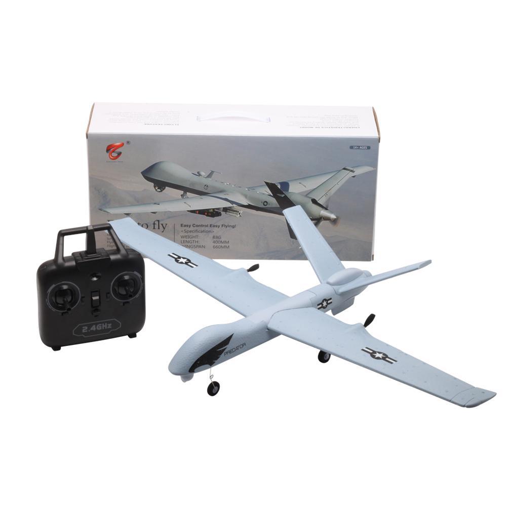Z51 prédateur 2.4G 2CH 660mm envergure télécommande RC avion avion aile fixe planeur Drone avec gyroscope intégré pour les enfants