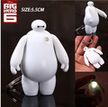 2017 New Big Hero 6 Toys Baymax LED Lighting Sounds Keychains Pendants Actions Toys Birthday Gifts Toys Retail And Wholesale