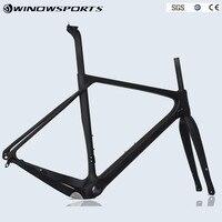 2018 New Design Gravel Frame China NEW arrival Aero Road or MTB Bike Frame S/M/L Size bicicleta Carbon Bike Frame Gravel Bike