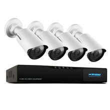 H.View IP Camera CCTV System 960P IP Camera Security Camera System 1080P Video Output iPhone Android Phone Easy Access