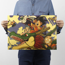 Dragon Ball – Vintage Poster Wall Sticker