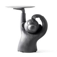 Творческий обезьяна Чай стол дизайн, пластик искусство и ремесло Животные лоток для маникюрных принадлежностей аксессуары для украшения д