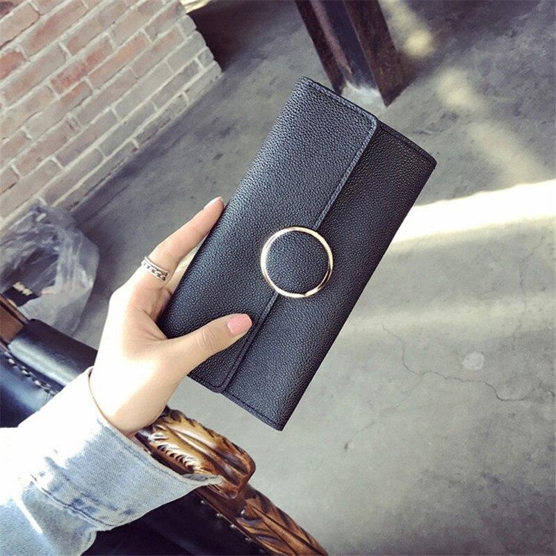purse wallet black composite 2 pcs set pcs set female famous brand card card. Black Bedroom Furniture Sets. Home Design Ideas