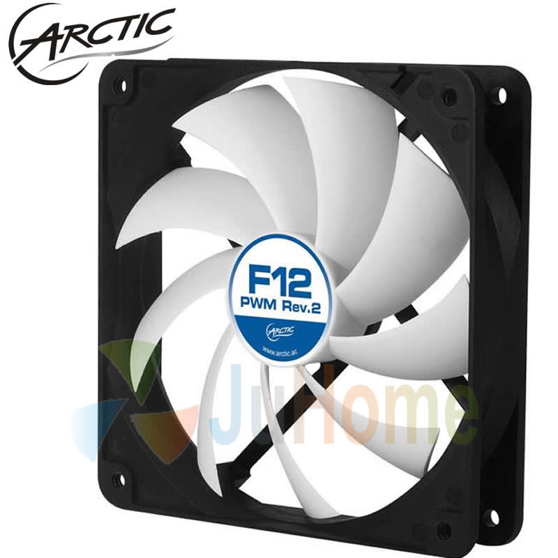 Arctic F12 PWM REV.2 4pin 12cm 120mm Cooler cooling fan temperature control silent fan Genuine original вентилятор arctic cooling f12 pwm rev 2 afaco 120p2 gba01 120mm